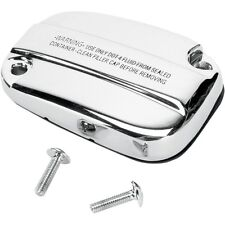 Chrome Front Brake and Clutch Master Cylinder Covers For Harley Davidson Touring