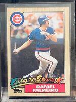 1987 Topps Baseball Rafael Palmeiro Rookie Rc Card
