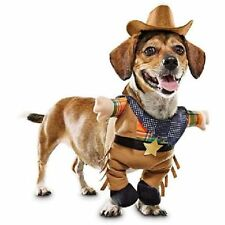 Cowboy 2 Piece Halloween Dog Pet Costume Small (New with Tags) - FREE SHIPPING  sc 1 st  eBay : jockey dog rider pet costume  - Germanpascual.Com