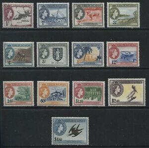 Virgin Islands QEII 1956 set mint o.g. hinged