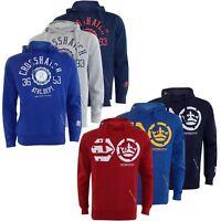 Crosshatch Mens Pullover Classic Printed Sweatshirts Hoodies