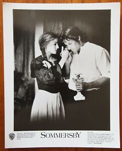 Sommersby - Jodie Foster & Richard Gere - B&W Press Photo - Lobby Photo