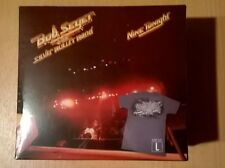 BOB SEGER & THE SILVER BULLET BAND Nine Tonight (CD + T-shirt sealed) RARE