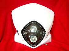 HEADLIGHT HEAD LAMP WHITE STREETFIGHTER DIRT BIKE KLX CRM XR DRZ RMZ RM250 YZ(B)