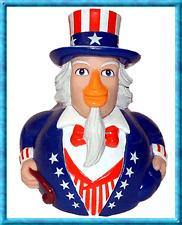 New Uncle Sam CelebriDuck Bath Rubber Duck Toy