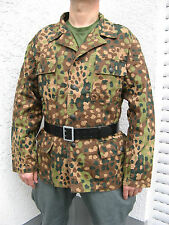"WWII German WH Elite Field blouse M44 dot pea Camo camo jacket  camo tunic ""S"""