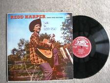 REDD HARPER I WALK THE GLORY ROAD ( MR TEXAS ) RARE COUNTRY / CHRISTIAN LP