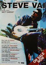 Steve Vai 2004 Australian Concert Tour Poster - Guitar Rock Music Legend