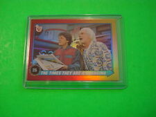 "2013 TOPPS 75TH ANNIVERSARY 1989 ""BACK TO THE FUTURE II"" PARALLEL FOIL CARD #90"