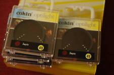 (PRL) COKIN FILTRO FILTAR FILTER PHOTO FOTO SEPIA 49mm 49 mm FILTRE OBJECTIF