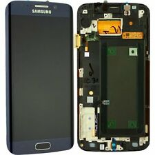 Noir Samsung Galaxy S6 Edge G925A g925t écran LCD + ÉCRAN TACTILE + cadre