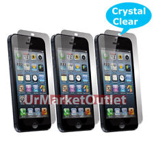 3x Front & Back Crystal Clear LCD Screen Protector for NEW Apple iPhone5