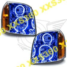 ORACLE 2x Halo HEADLIGHTS for GMC Yukon 07-14 BLUE LED Angel Demon Eyes