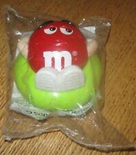 1997 M&M Burger King Toy - Mini Dispenser - Red in Innertube