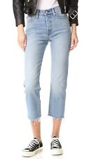 New Levi's jeans/ Blue Wedgie fit straight/high-rise 28