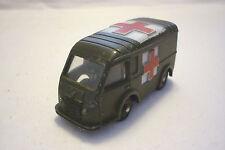 Dinky Toys-vintage modelo de metal-militar Ambulance-no réplica (Dinky-t-38)