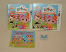 NINTENDO 3DS Lalaloopsy Carnival of Friends Video Game Made by Activision