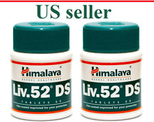 2 Bottles Himalaya Liv52 DS Liver Repair Dyspepsia Stress Loss of appetite EXP22