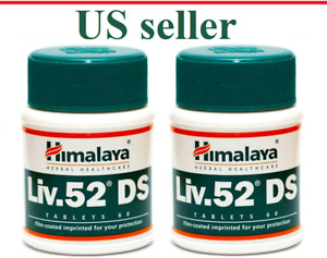2 Bottles Himalaya Liv52 DS Liver Repair Dyspepsia Cold Stress Diabetes Liv 52