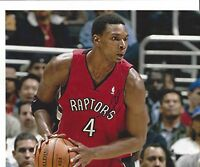 chris bosh signed 8x10 photo autographed picture raptors heat nba auto toronto