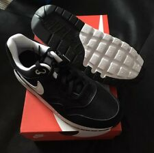 Nike Air Max 1 Trainers UK Size 6 Black/White Brand New Boxed