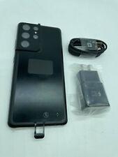 Samsung Galaxy S21 Ultra 5G SM-G998U 128GB Factory Unlocked - Phantom Black