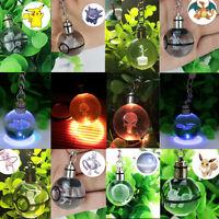 Crystal Star Wars 3D LED Night Light Key Ring Chain Crafts Xmas Gift