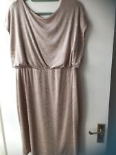 Lovely Gold Col Party Dress Size 20