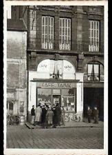 """ROUEN (76) COMMERCE """"CAFE-BUREAU de TABAC GERMOND"""" animé période 1930-1950"""