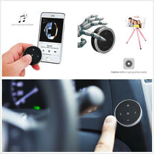 Mini Car SUV Steering Wheel Bluetooth Media Audio Music Button Remote Controller