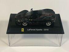 ALTAYA IXO EXCEPTION FERRARI LaFerrari Aperta 2016 noir modèle de voiture MK01 1:43