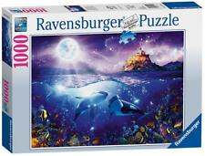 Ravensburger 19791 High Quality Whales in the Moonlight 1000pcs Jigsaw Puzzle