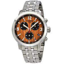 Tissot PRC 200 Basketball Brown Dial Mens Chronograph Watch T055.417.11.297.01