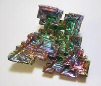 +++ Wismut Kristall // synthetisch +++ bismuth crystal Stufe Sammlung | Nr.4