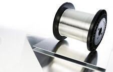 10 metri Filo NICHEL- CROMO 80/20 - d. 0,20mm   36 Ω/metro filo caldo x taglio