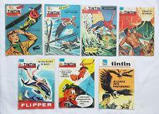 Lot Journal Tintin 407 588 601 751 802 829 895 AIDANS / HERGE / BD / cheque