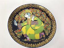 Rosenthal Wandteller Aladin und die Wunderlampe Aladin im Zaubergarten