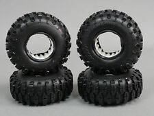 RC 1/10 Rubber TRUCK Tires SHOE SWAMPERS 1.9 ROCK CRAWLER Wheels 105mm W/ Foam