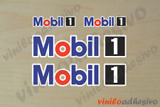PEGATINA STICKER VINILO mobil1 oli mobil 1 autocollant aufkleber adesivi