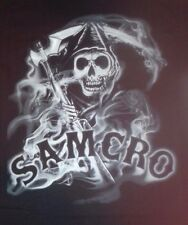 SMALL MEN'S BLACK T-SHIRT ** SONS OF ANARCHY ** SAM CRO ** SOA ** FX REAPER NEW