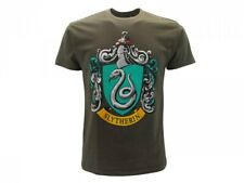 T Shirt Harry Potter SLYTHERIN  maglietta SERPEVERDE  ORIGINALE VERDE film