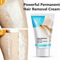 Permanent Hair Removal Cream Hair Growth Inhibitor Makes Powerful Satin Ski W9T6