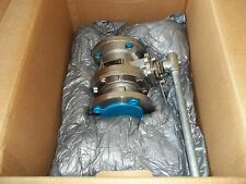 """NEW FLOWSERVE / WOCESTER CONTROLS 2FZ818666TZ150R4 STAINLESS STEEL 2"""" BALL VALVE"""