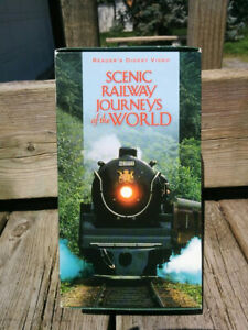 VHS Cassette Scenic Railway Journeys of the World Riders Digest Video 3x pack