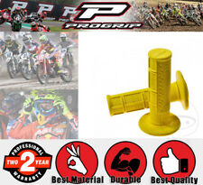 ProGrip Handle Bar Grip Set - 22x120mm - Closed - Yellow for Ducati 848