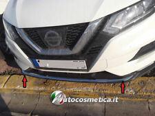 Modanatura profilo acciaio cromo cromata  paraurto per Nissan Qashqai dal 2017