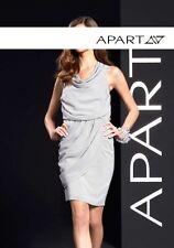 Apart Light Grey Chiffon Dress ** Size 2 **