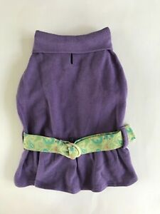 East Side Collection Paisley Puppy Polo Small Dog Dress Sz XXS XS S NWOT
