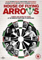Casa de Vuelo Flechas Phil Taylor Eric Bristow Bobby George GB DVD Nuevo