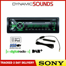 SONY MEX-N6001BD 55 x 4 WATT DAB Radio Bluetooth CD MP3 USB Auto Stereo & antenna